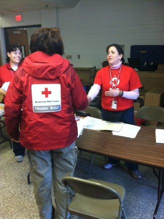 RCH and volunteers at Hatboro shelter