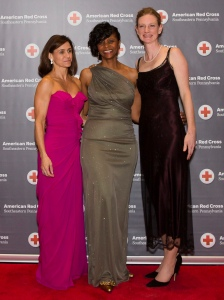 Me with some of my favorite volunteers at Red Ball
