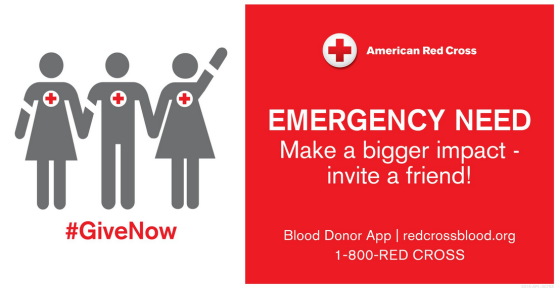 Blood Emergency Give Now